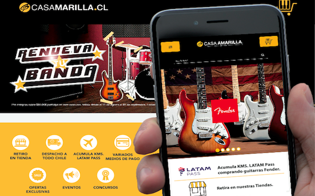 Casa amarilla lanza un nuevo y mejorado sitio de compras for Casa amarilla instrumentos